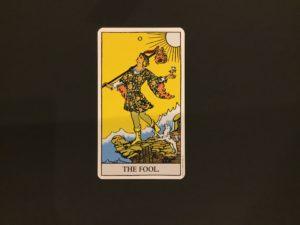 愚者のカード正位置