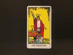 大アルカナ魔術師のカード