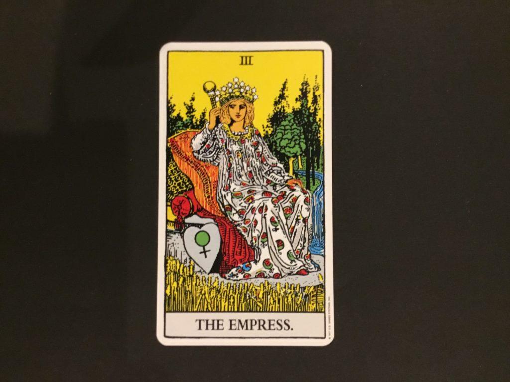 大アルカナ女帝のカード